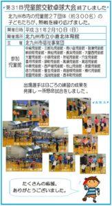 児童館交歓卓球大会が行われました